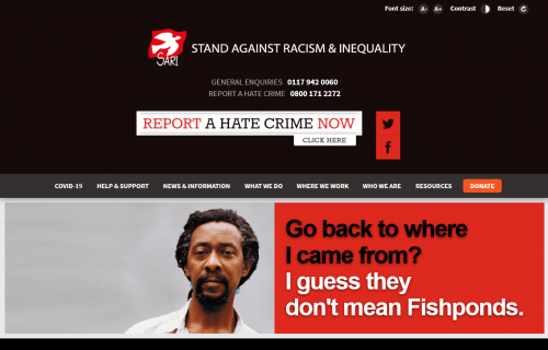 Stand Against Racism And Inequality