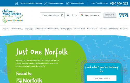 Just One Norfolk